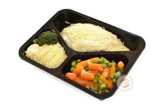 Afbeelding van Orloffgebraad met kaassaus en groentenpuree